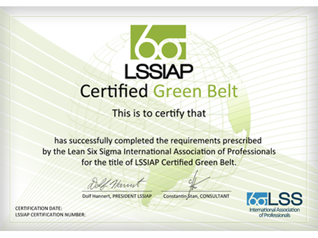 Lean Six Sigma International Association of Professionals